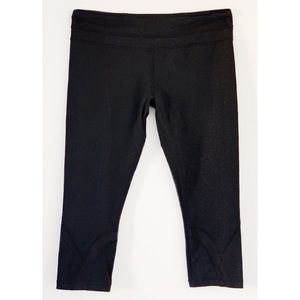 lululemon athletica Pants - LULULEMON RUN INSPIRE CROP II CROPS SZ 12